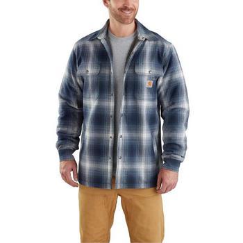 Carhartt Men's Hubbard Sherpa Lined Shirt Jac #103353